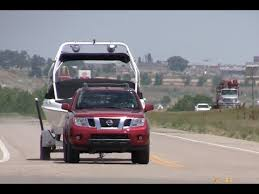 2013 Nissan Frontier Pro 4x Pickup 0 60 Mph Towing Test