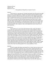 bio lab report white microevolution in drosophila  5 pages bio 1 lab 3