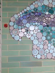 White Bear Lake Mosaic Bathroom Mercury Mosaics - Mosaic bathrooms