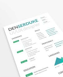 10 Creative Resume Free Psd Templates Phire Base
