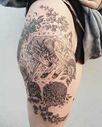 Magical Flora Fauna Tattoos Inspired By Vintage Drawings Tattoo