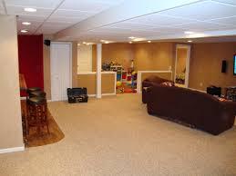 Elegant Simple Basement Finishing Ideas Simple Finished Basement - Finished basement kids