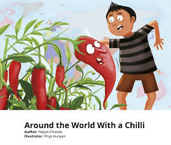 around the world with a chilli childrens