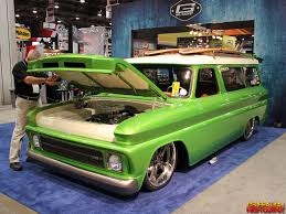 Mr. Gasket 1966 Chevrolet Suburban 'Lime Crush' | GenHO