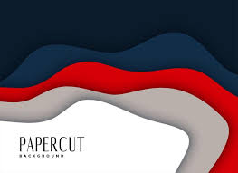 Layered Background Abstract Papercut Layered Background Design Download Free Vector