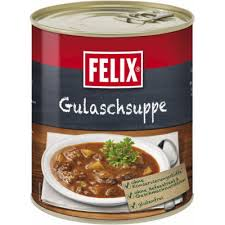 felix goulash soup 800g can from wholesale and import
