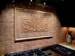 Decorative Tile Frames Handmade Decorative Backsplash Using Toulouse Tile And Plain Frame 3