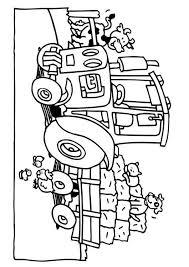 Kleurplaat Dieren Tractor Coole Kleurplaten Van Kleurplatenonline