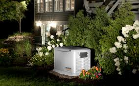 Image Honeywell Whole House Generator Home Generator Generac Generator On Standby Outside Home Kolb Electric Generac Generators Dc Md Va Standby Generator Installation