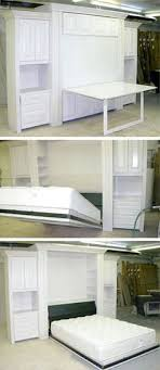 murphy bed desk folds. A Custom Table Murphy Bed Creates Truly Dual Purpose Room: It Provides Extra Work Desk Folds
