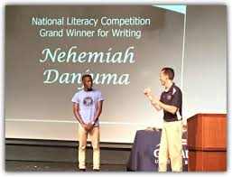 world link deaf student wins national literary competition trip  nehemiah won the grand prize in this competition a trip for two to gallaudet university in washington dc we invite you to about his experience