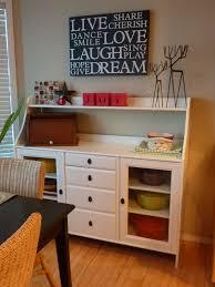 Kitchen Sideboard Ikea My Crafty Days Ikea Furniture Redo Nook Makeover