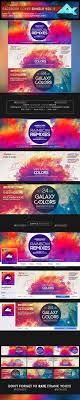 colorful facebook cover bundle vol 1 web elements social a facebook timeline facebook cover templatefacebook