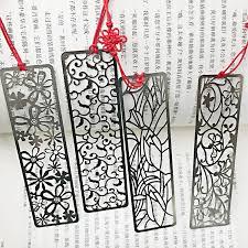 <b>4pcs</b>/<b>lot Chinese</b> Classical Style Metal Bookmark Merlin Bamboo ...