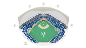 tropicana field seating map ta bay