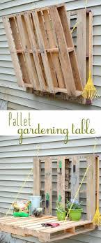 pallet patio furniture decor. #35 Fold-able Pallet Gardening Furniture Patio Decor