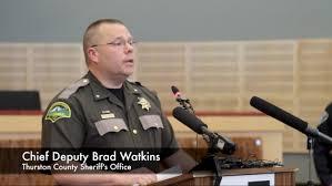 Chief Deputy Brad Watkins Youtube