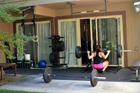 basement gym ideas. Backyard Gym Ideas Plan Unfinished Basement In Home With  Manual Weight Lifting Equipment