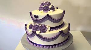 beautiful white and purple wedding cakes. Inside Beautiful White And Purple Wedding Cakes