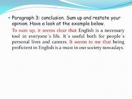 unit– colegio academia preuniversitaria opinion essay  paragraph  body support your ideas  facts or examples look at the