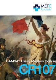 gamsat essay examples gamsat sample essays masters course gamsat essay masters course 90 gamsat essay examples