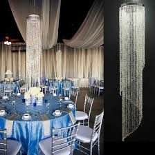 hanging crystals for wedding centerpieces. free shipping (8pcs /lots)acrylic crystal wedding centerpiece,wedding column /hanging hanging crystals for centerpieces n