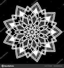 шаблон круглые тату векторное изображение Tamsamtam 162134508