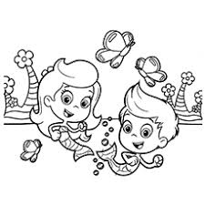 Small Picture Bubble Guppies Coloring Pages 25 Free Printable Sheets