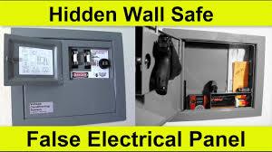 Wall safe hidden Install Olliechairinfo Console Vault Secret Hidden Wall Safe Youtube