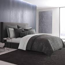 Vera Wang Charcoal Floral Duvet Cover - Free Shipping Today - Overstock.com  - 24302413