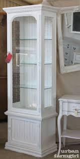 interior white curio cabinet white wall mounted curio cabinet