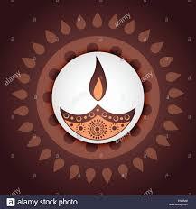 Diwali Diya Designs Photos Artistic Indian Festival Diwali Diya Design Stock Vector Art