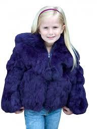 pyrenex kids real fur navy jacket retro designer wear