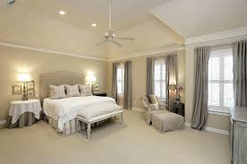 ceiling fans for vaulted ceilings spacious master bedroom with high vaulted ceilings recessed lighting ceiling fan