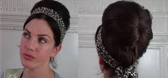 Sixties Hair Style bangin boho beehive tutorial easy & quick 60s vintage retro 5862 by wearticles.com