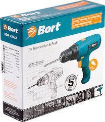 <b>Дрель</b>-<b>шуруповерт Bort BSM-250</b> x2 98296648 купить в интернет ...