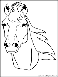 Small Picture Printable Coloring Pages Horses Coloring Pages