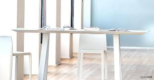 high table ark high white meeting table