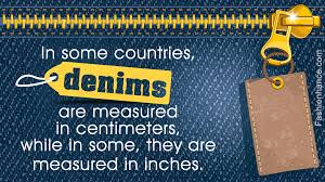 Daytrip Jeans Size Chart A Jeans Size Conversion Chart You Will Thank Us For Giving You