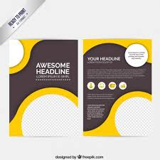 Booklet Template Free Download Custom Free Pamphlet Design Creative Brochure Templates Free Download