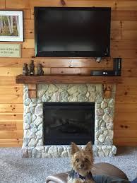 fieldstone rustic electric fireplace mantel package gds26l5 904st dimplex