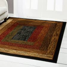red green beige tan bordered modern geometric area rug contemporary carpet 1 of 6free see more