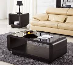 Living Room Ideas Living Room Center Table Rectangle Black Gloss