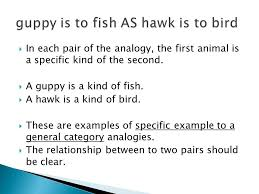 Types Of Analogies Chart Relationships Between Words Analogies Are Based On