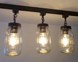 mason jar lighting fixture. mason jar track lighting new quart single light fixture the lamp goods lighting