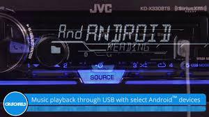 jvc kd x330bts display and controls demo crutchfield video youtube jvc kd-x33mbs wiring diagram at Jvc Kd X330bts Wiring Diagram