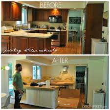 Stunning Design Diy Painting Kitchen Cabinets Unbelievable How To