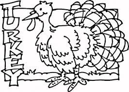 Small Picture Printable Coloring Pages Of A Turkey mycup2yourscom