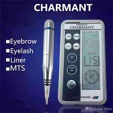 charmant permanent makeup digital machine 3d eyebrow embroidery tattoo micro blades multifunction embroidery microblading digita machine