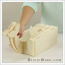 diy tissue box cover by build basic step 16